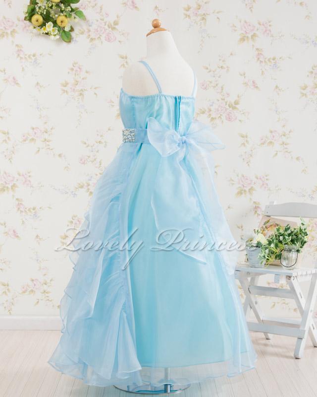 発表会子どもドレス・ジュニアドレス ナタリー ブルー