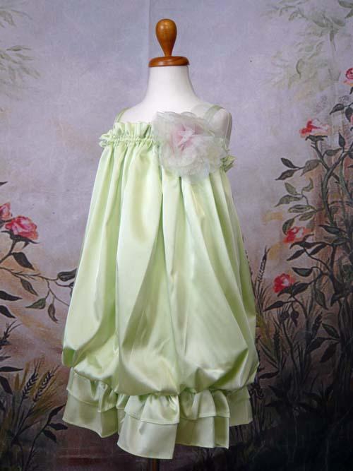 子供ドレス ルチア ミントグリーン