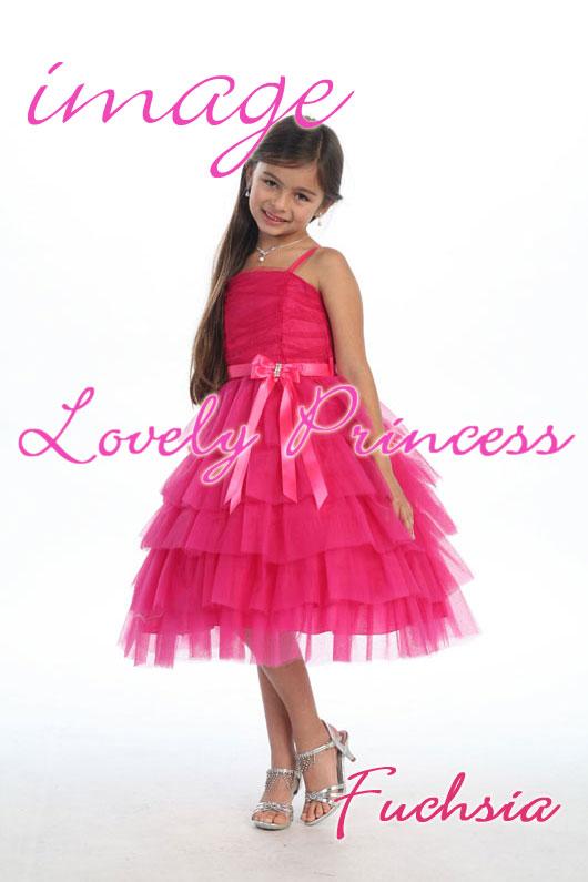 子供ドレス レスフィーナ フューシャ