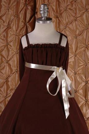 子供ドレス ドルチェ ブラウン2