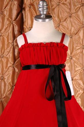 子供ドレス ドルチェ レッド2