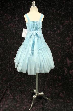 子供ドレス エリカ ブルー4