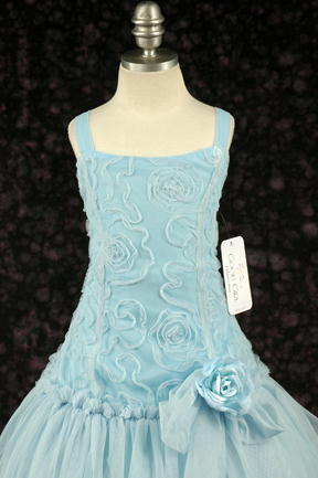 子供ドレス エリカ ブルー2