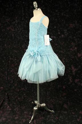子供ドレス エリカ ブルー3