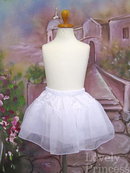 浴衣ドレス用パニエ(32584) ホワイト