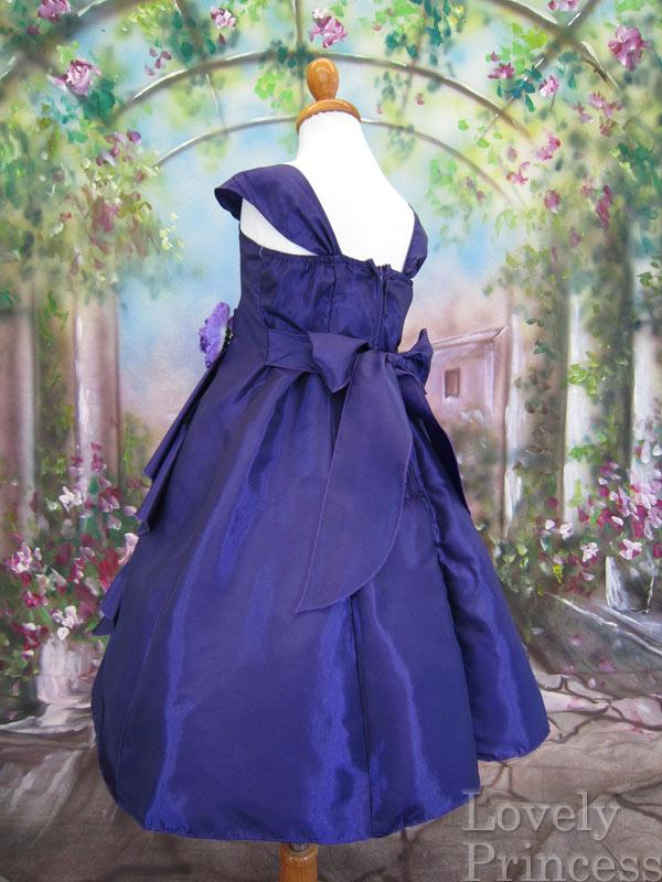 子供ドレス ニューファンシー パープル