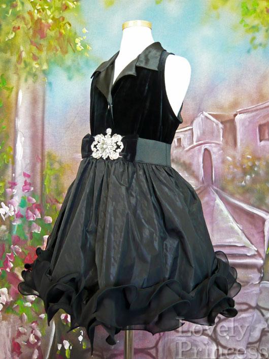 子供ドレス マドンナ ブラック(BONNIE JEAN)