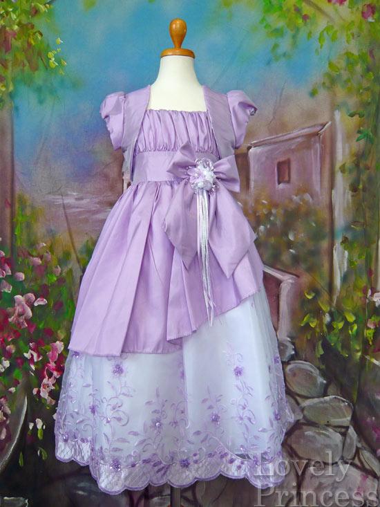 子供ドレス アシュリー ライラック
