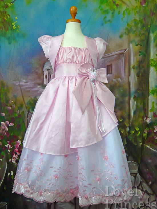 子供ドレス アシュリー ピンク