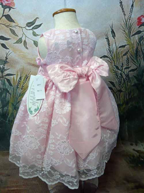 ベビードレス メロディーヌ ピンク