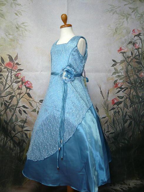 子供ドレス セーラ ブルー