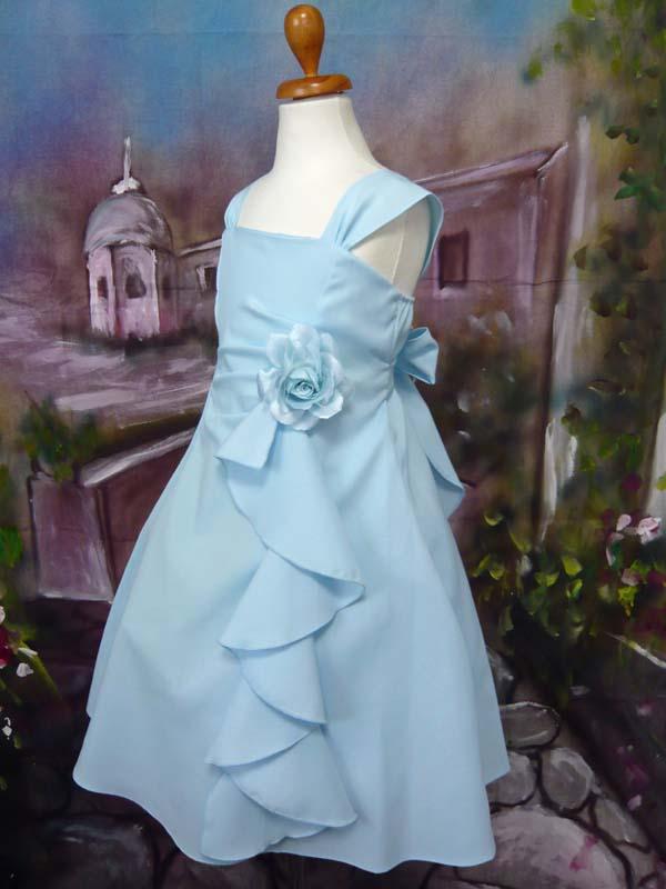 子供ドレス ファンシー ブルー