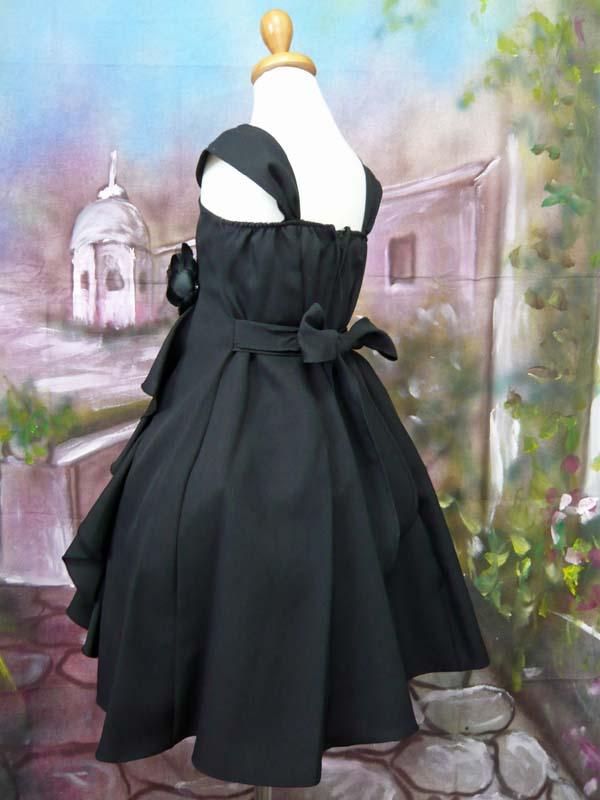 子供ドレス ファンシー ブラック