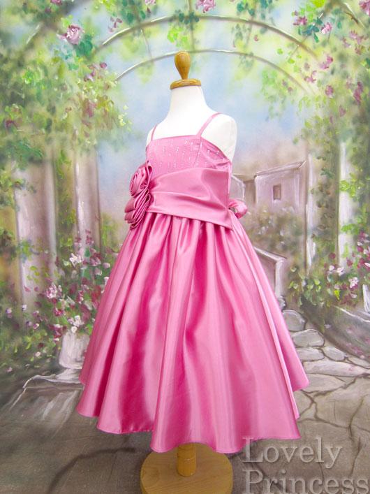 子供ドレス カサンドラ ローズピンク