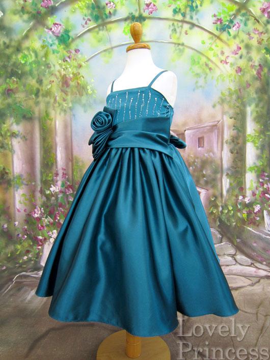 子供ドレス カサンドラ ティール
