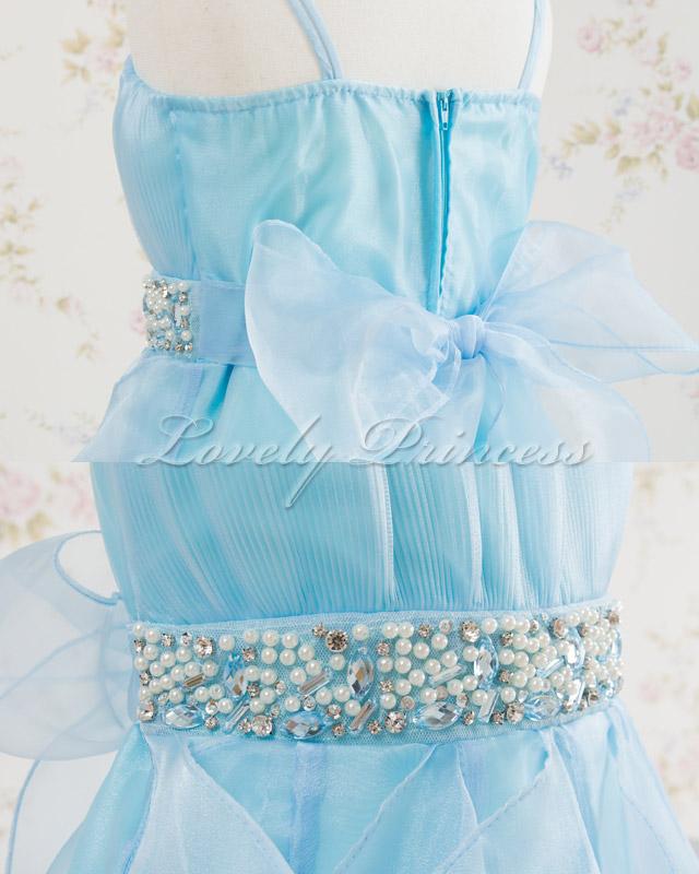 結婚式子供ドレス・ジュニアドレス ナタリー ブルー