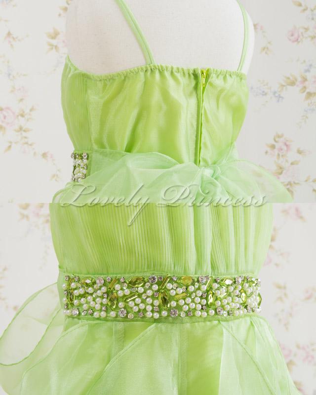 結婚式子供ドレス・ジュニアドレス ナタリー ライム