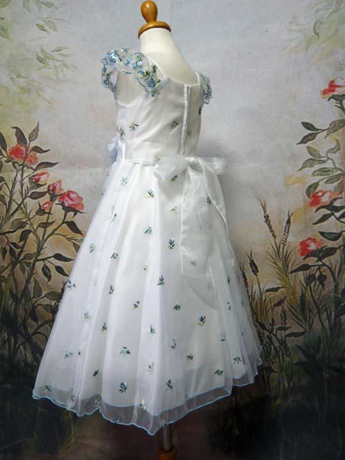 子供ドレス シンデレラ ブルー