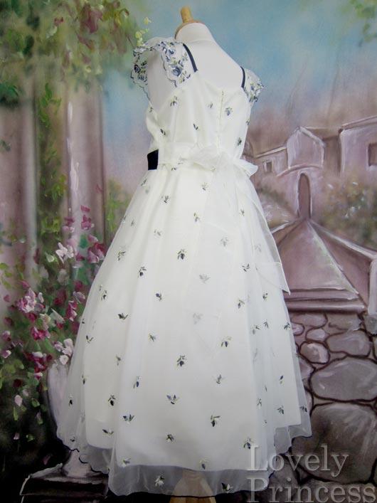 子供ドレス シンデレラ ネイビー