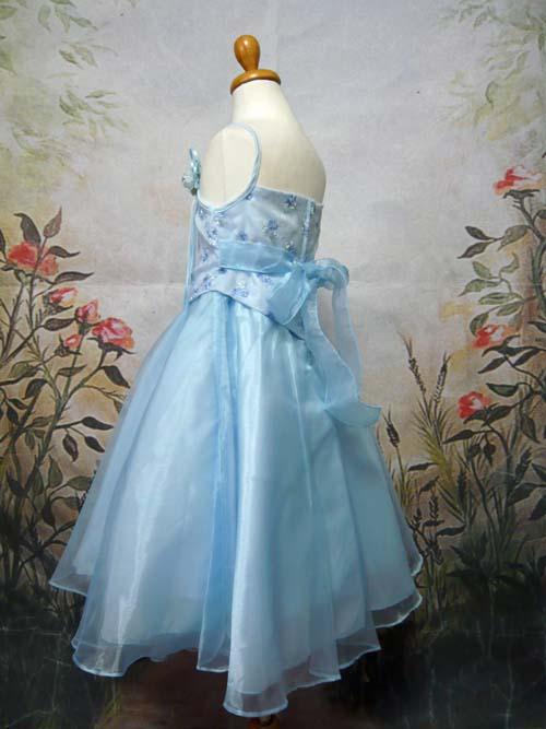 子供ドレス アデラ ブルー