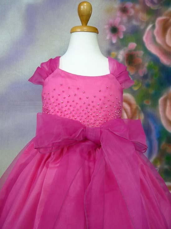 子供ドレス エリーゼ フューシャ