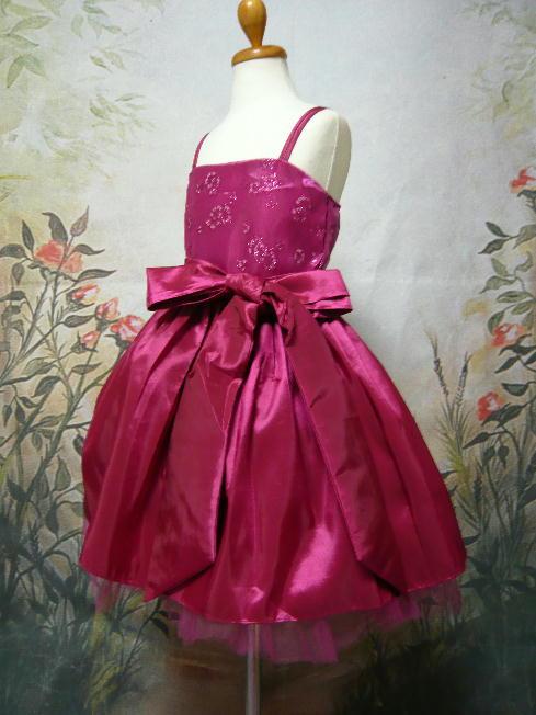 子供ドレス ローゼ フューシャ