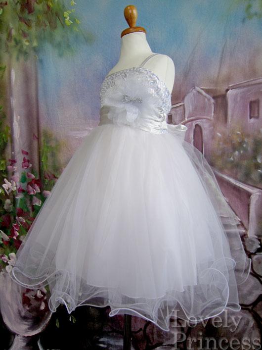 子供ドレス スザンヌ シルバー