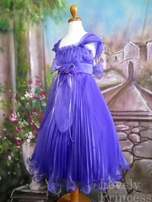 子供ドレス エミリア パープル