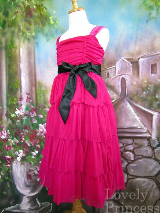 子供ドレス テレサ フューシャ