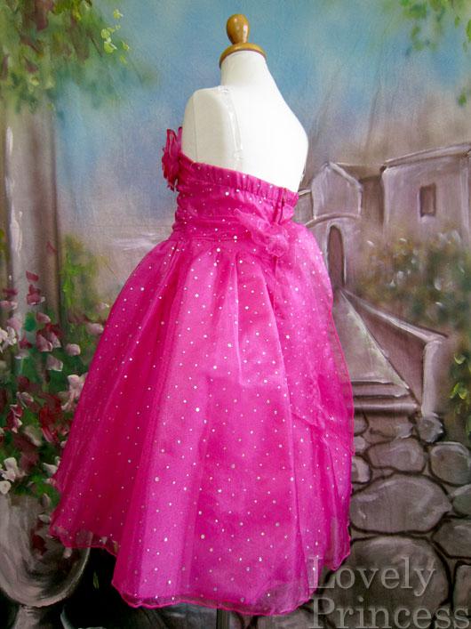子供ドレス ミズリー フューシャ