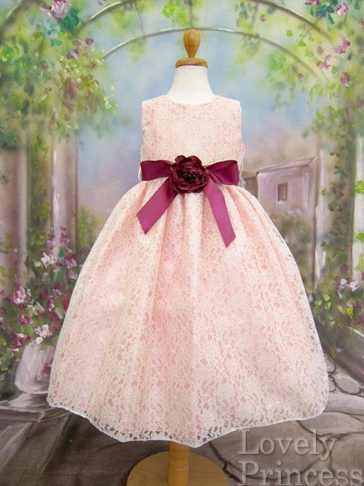 子供ドレス エティ ピンク