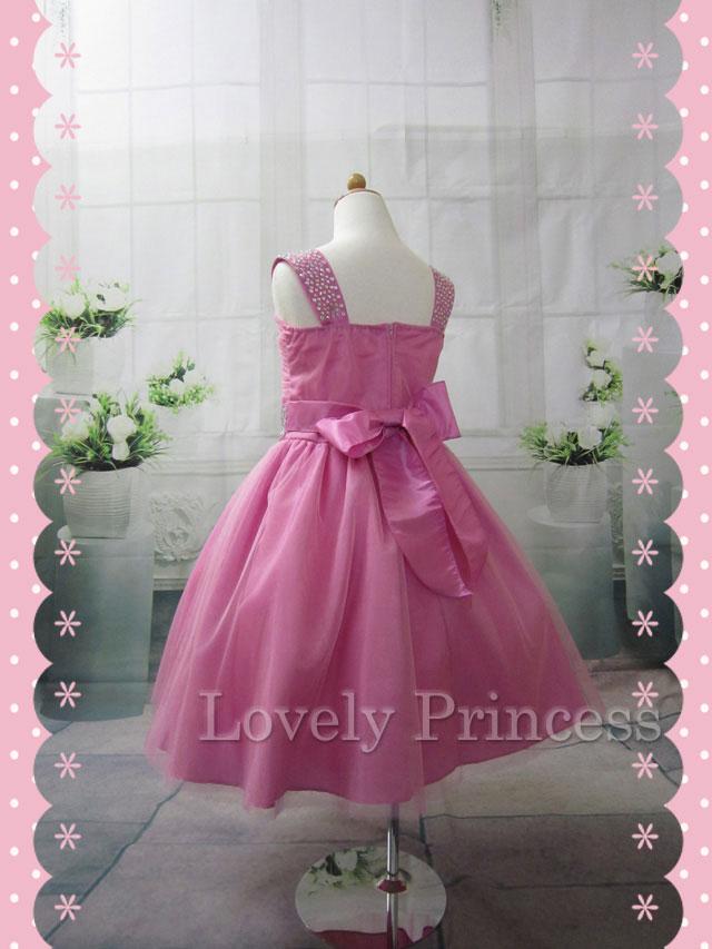 子供のドレス マチルダ ロ-ズピンク