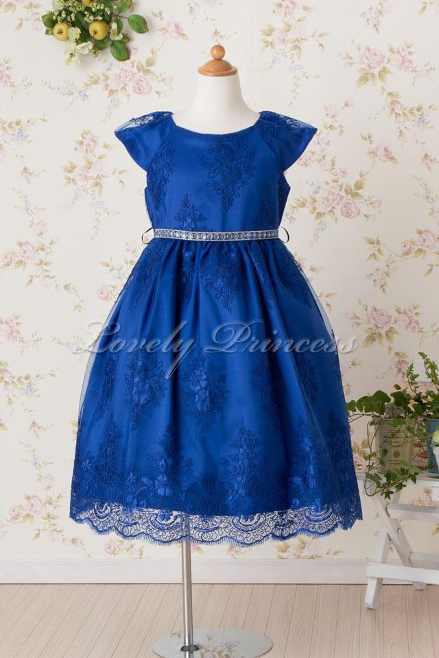 子供ドレス エミリー ロイヤルブルー