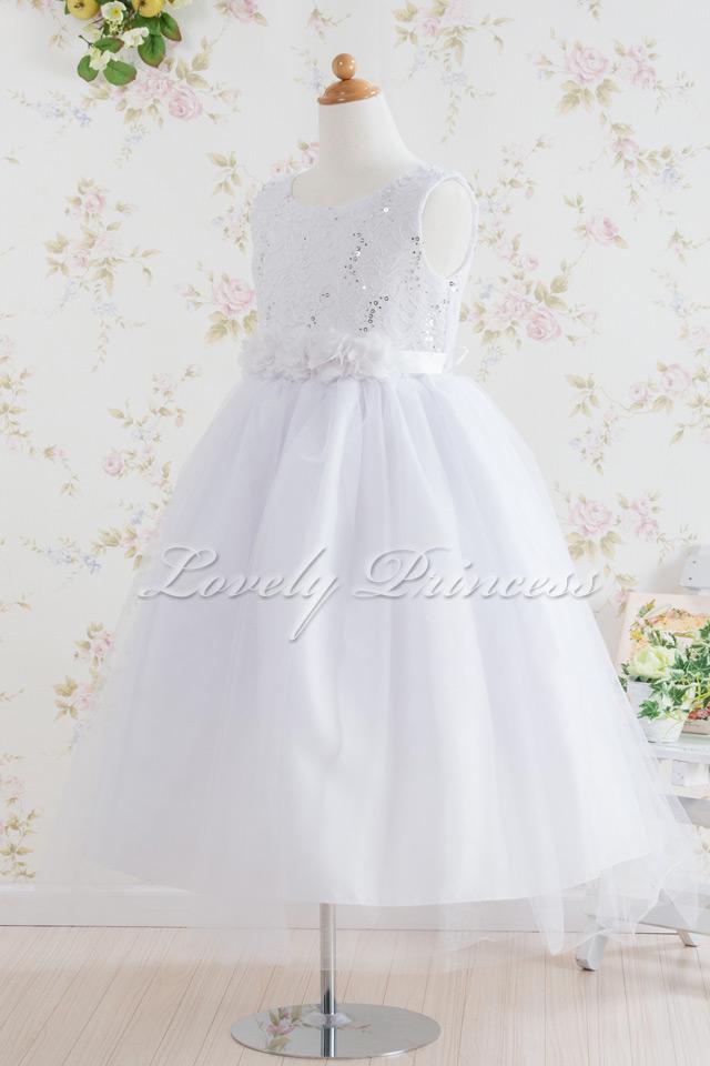 コンクール子供ドレス フェリス ホワイト