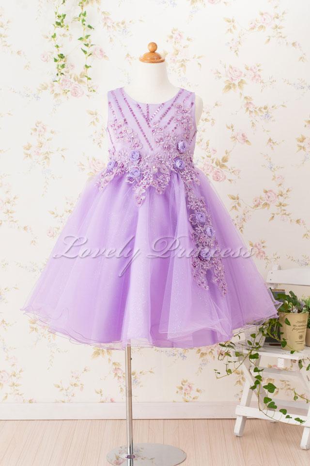 子どもドレス 子どもドレス(CC9022-L) ライラック