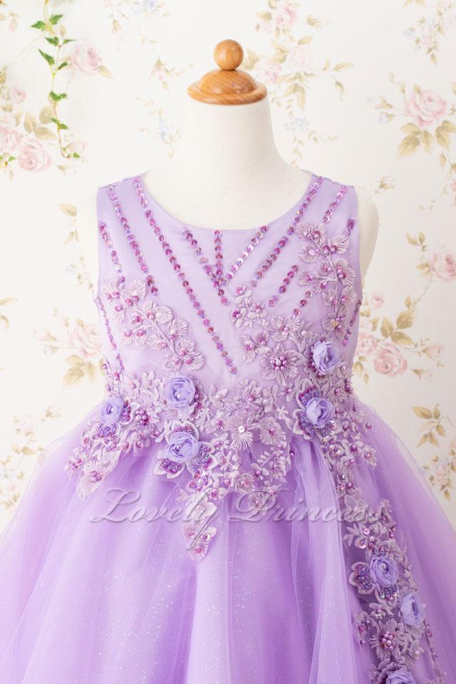 発表会子どもドレス 子どもドレス(CC9022-L) ライラック