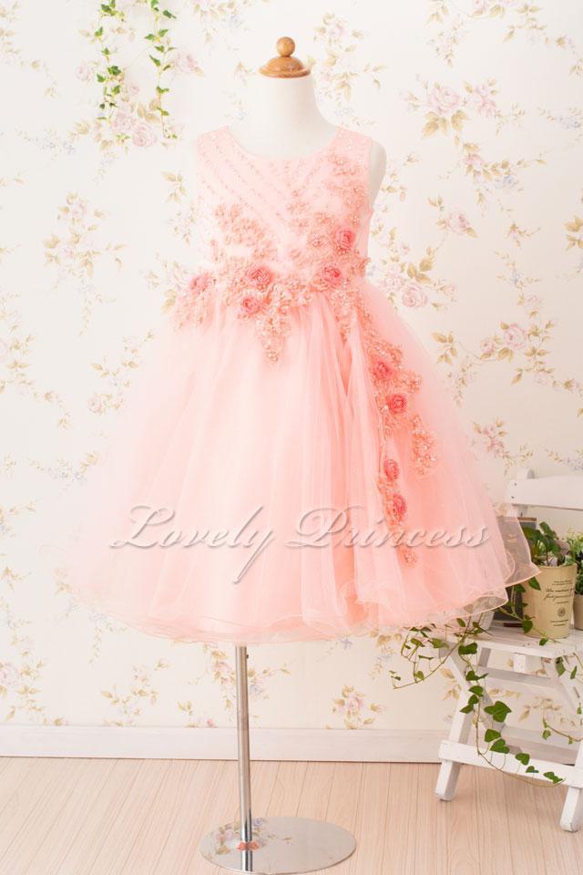 子どもドレス 子どもドレス(CC9022-P) ピンク
