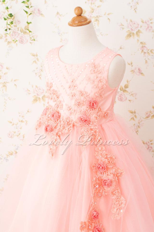 発表会子どもドレス 子どもドレス(CC9022-P) ピンク
