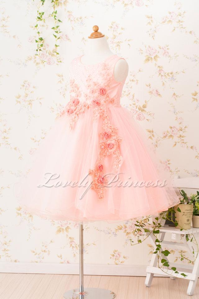 結婚式子どもドレス 子どもドレス(CC9022-P) ピンク