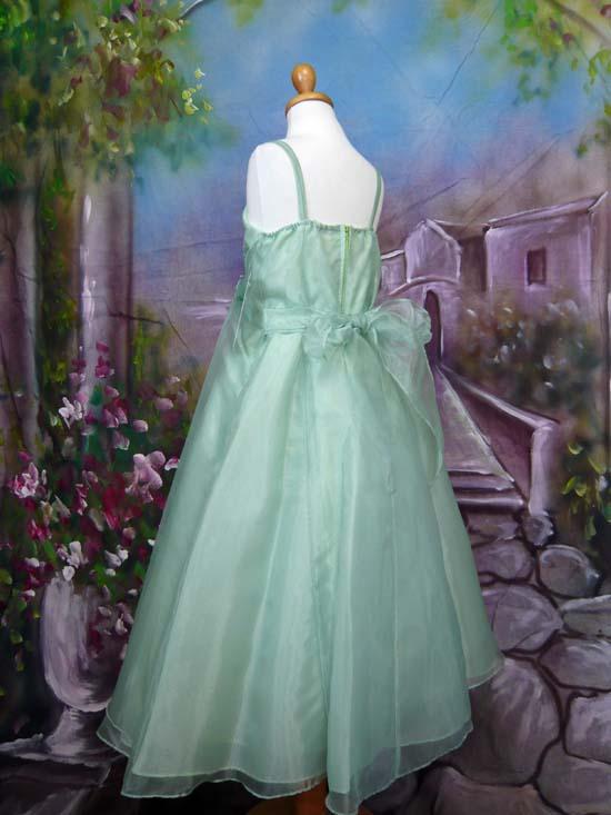子供ドレス パピヨン セージ