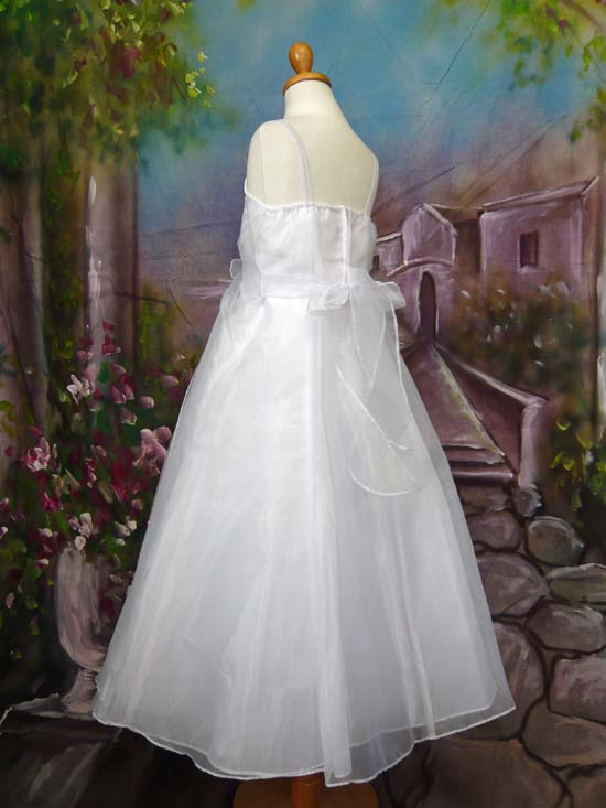 子供ドレス パピヨン ホワイト