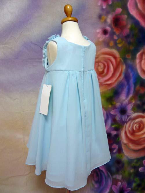 子供ドレス フローレンス ブルー