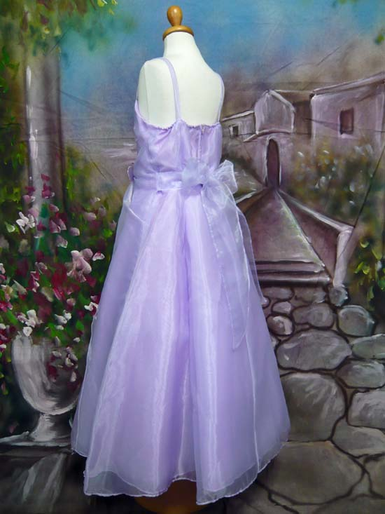 子供ドレス パピヨン ライラック
