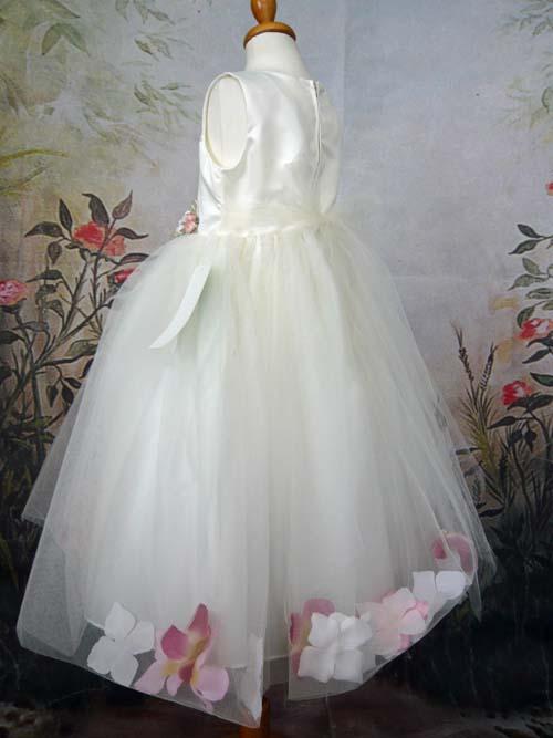 子供ドレス フロライン アイボリー