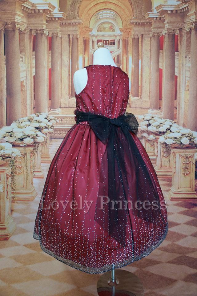結婚式子供用ドレス ディビナ レッド