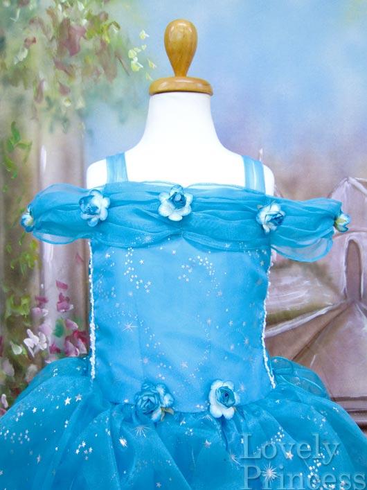 子供ドレス スターガール アクアブルー