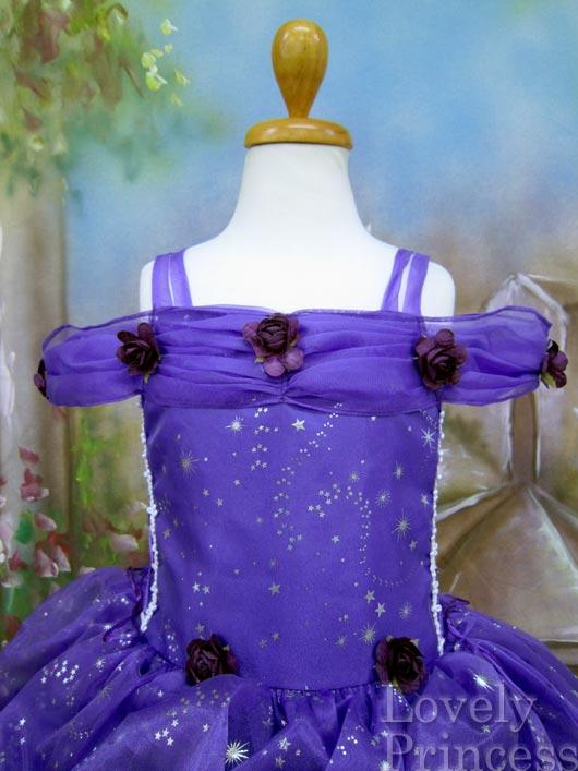 子供ドレス スターガール パープル