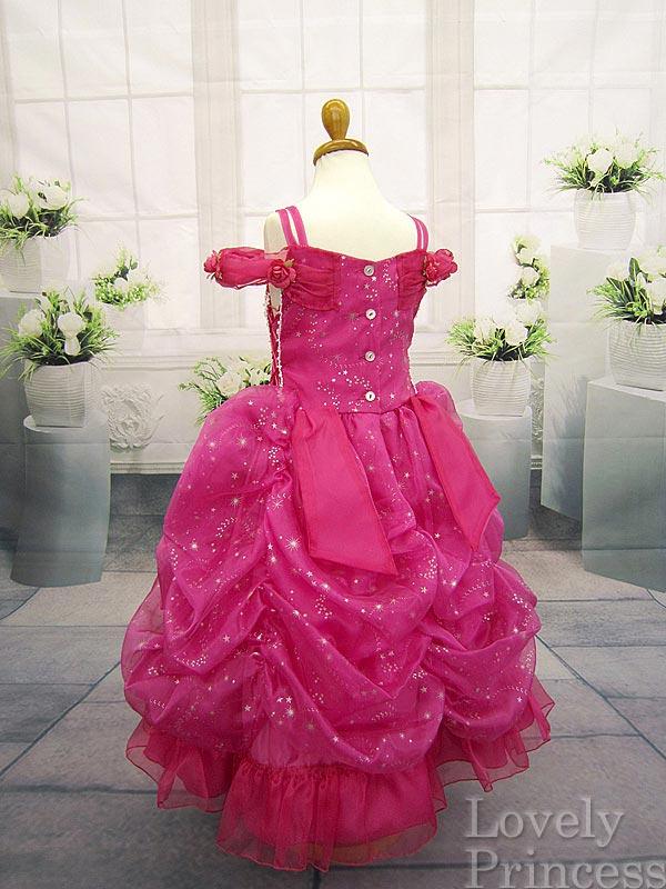 子供ドレス スターガール フューシャ