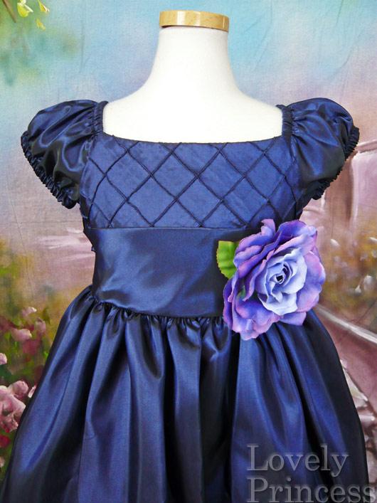 子供用ドレス キャロル ネイビー