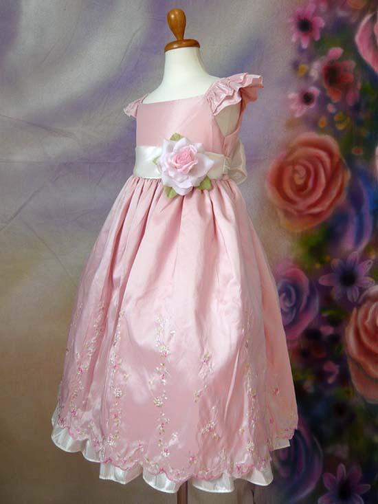 子供ドレス メグ ピンク
